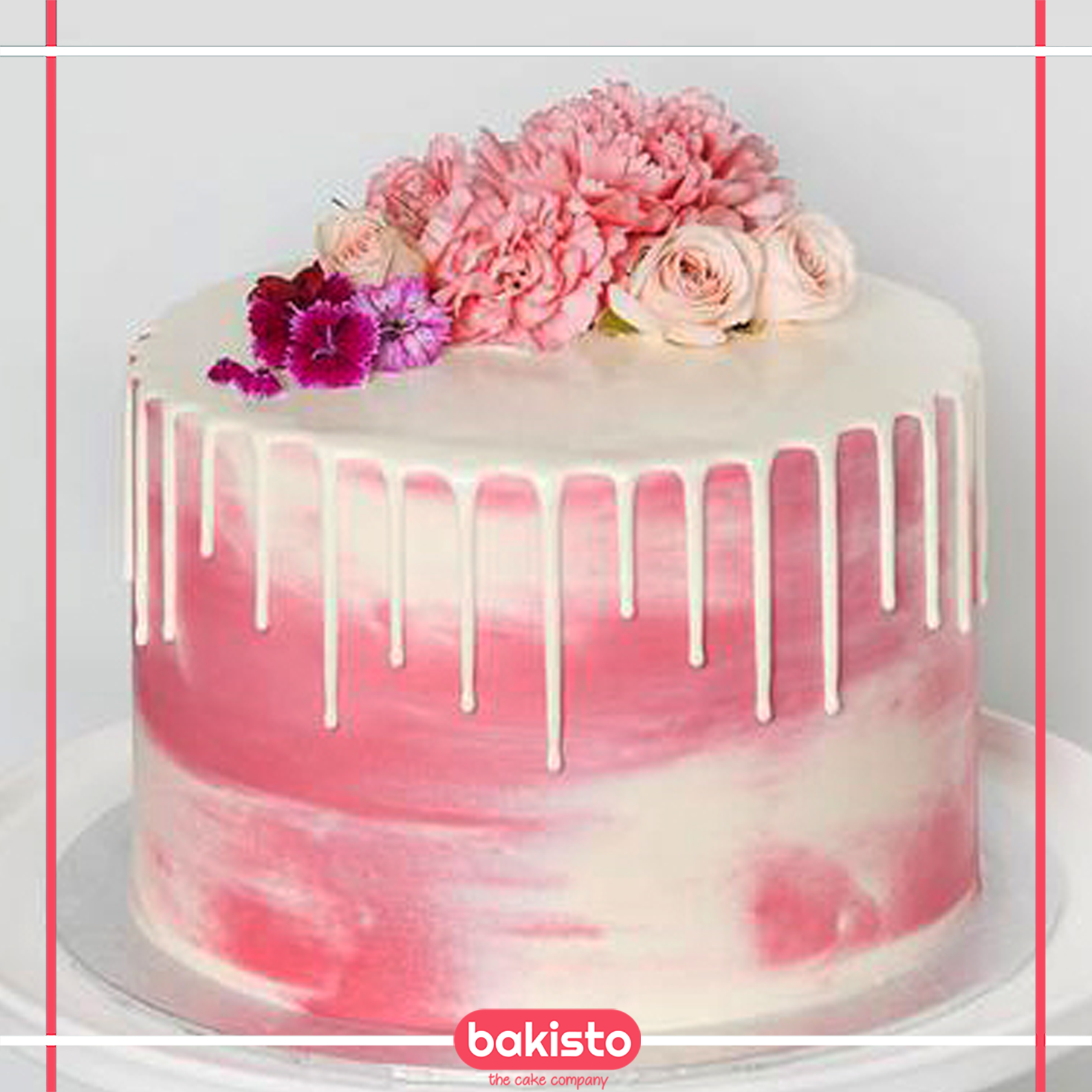 Flowers Design Birthday Cake Flower Cakes Anniversary