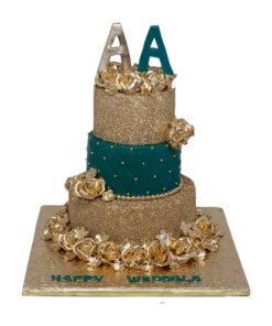 wedding cake by bakisto
