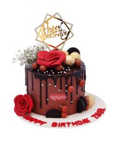 Chocolate Theme Cake