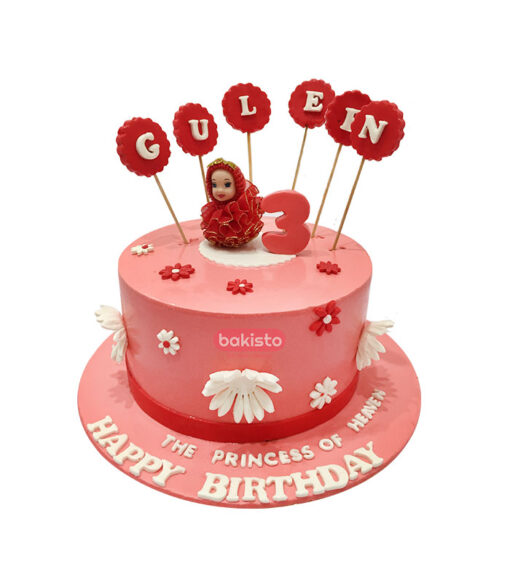 Pink Barbie Doll Cake by bakisto