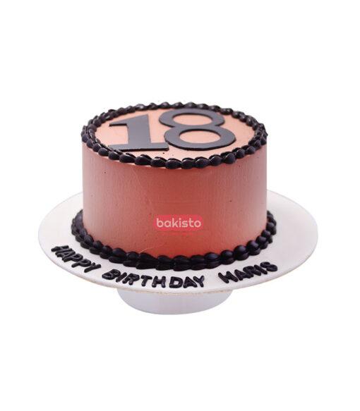 chocolate fudge cake by bakisto