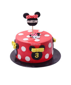mickey mouse cake by bakisto