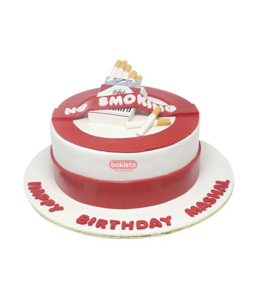 no smoking cake by bakisto
