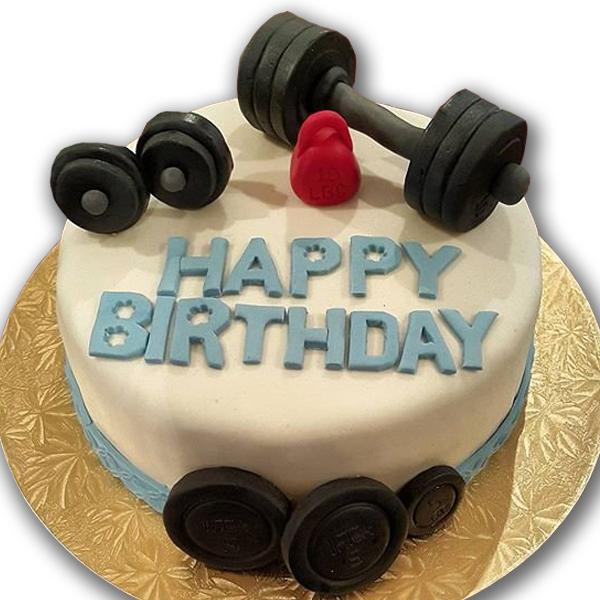 Gym Birthday Cake And Cupcake Ideas In Lahore