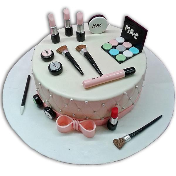 Amazing Girls Makeup Cake Ideas In Lahore Free Delivery