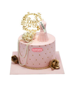 bride to be cake by bakisto, online cake delivery in lahore