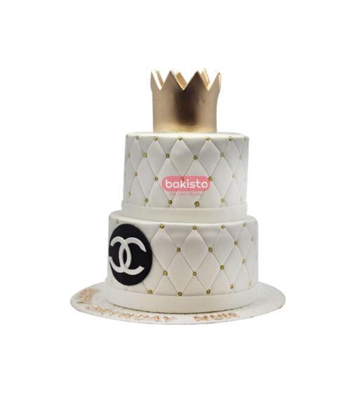 Channel Theme Makeup Cake
