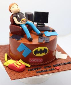 young boy cake