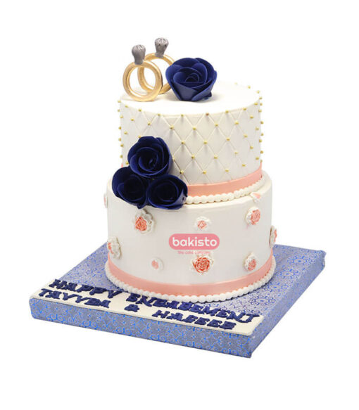 engagement cake by bakisto, cake delivery in lahore