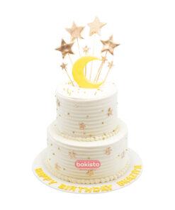 2 tier moon cake by bakisto