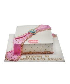 nikkah mubarak cake, online cake delivery in lahore