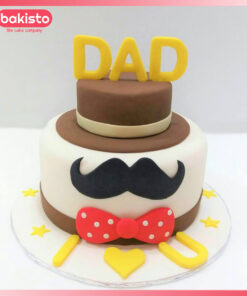Brown Cap Dad cake