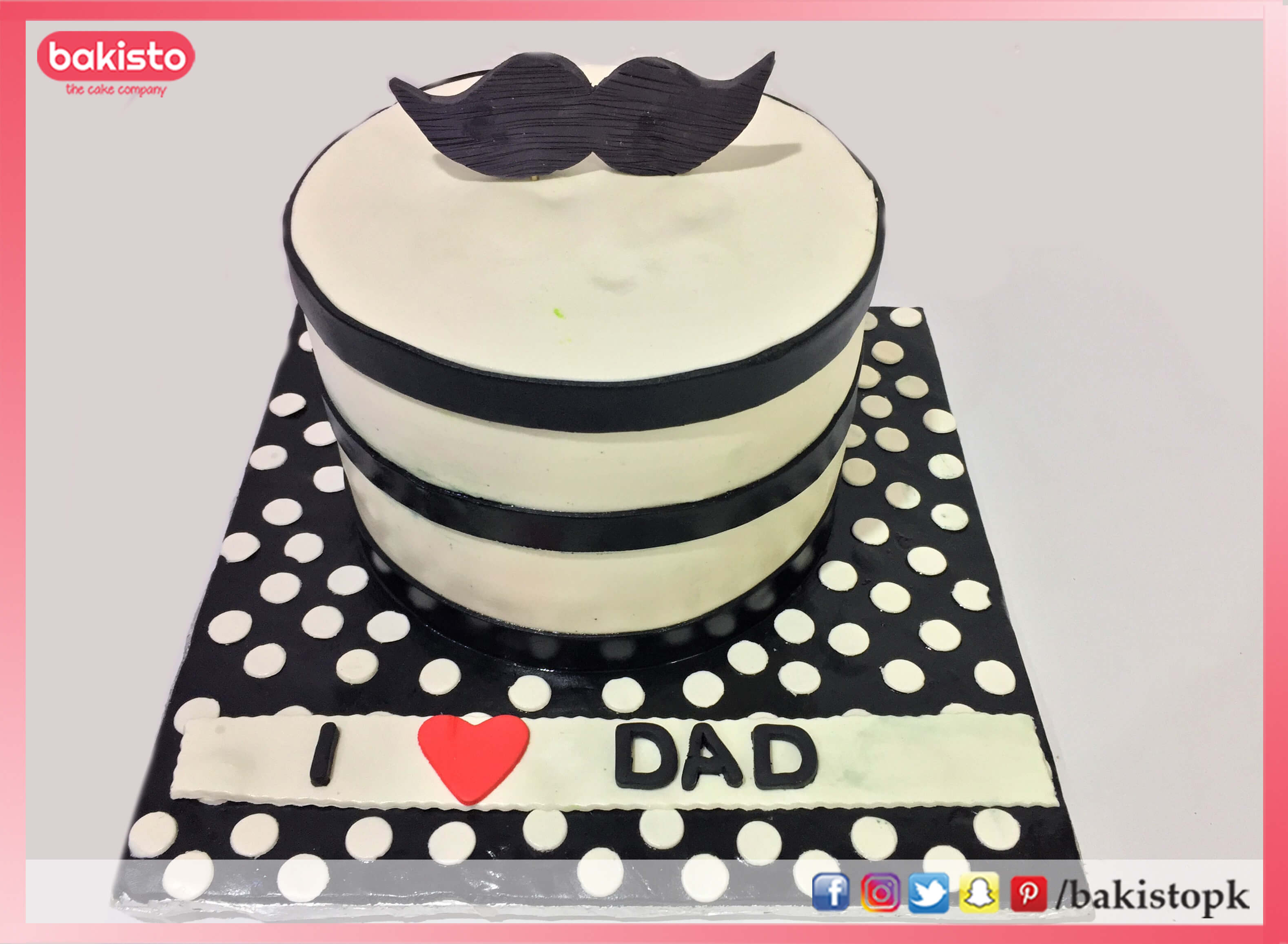 Special father day cake