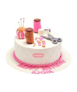 little girl cake by bakisto