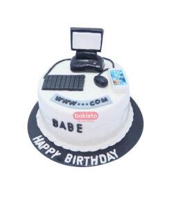 web developer cake by bakisto - the cake company