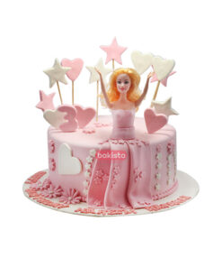 barbie doll cake, online cake delivery in lahore