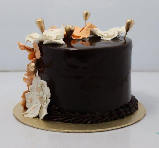 Flower Theme Birthday Cake