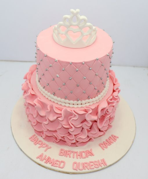 Baby Queen Birthday Cake