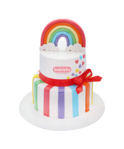 rainbow cake, online cake delivery in lahore