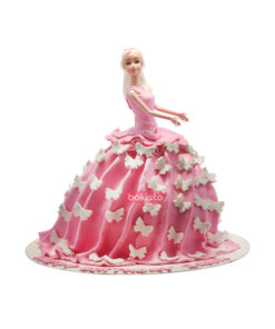 doll cake by bakisto, online cake delivery in lahore