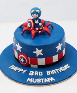 Superhero Theme Cake