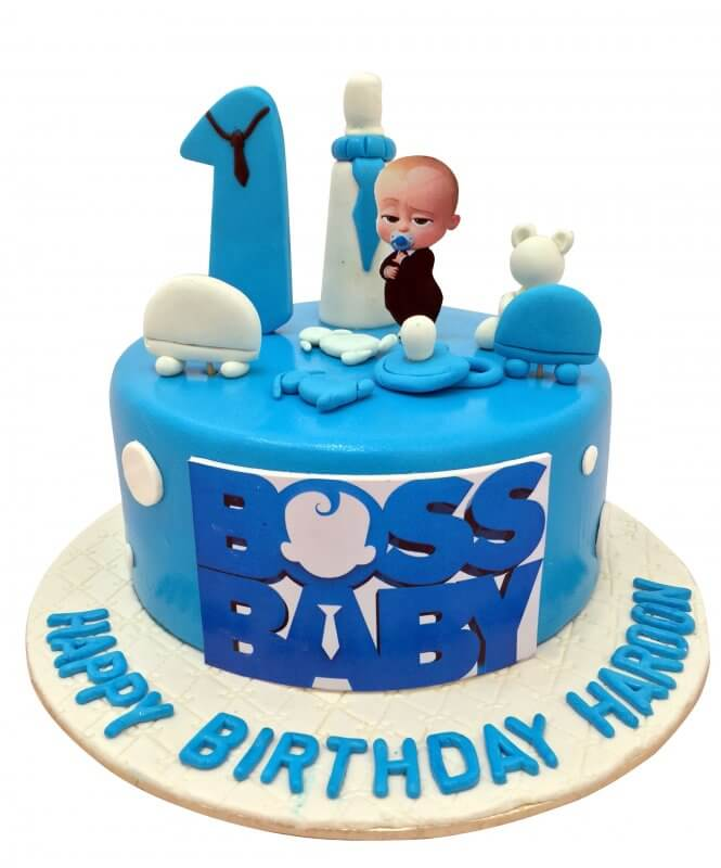 Baby Boss Birthday Cakes Boss Baby Cake Decorations