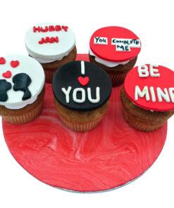 Love Theme Cupcake