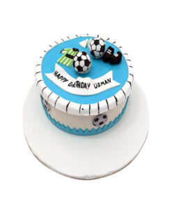 Foot Ball Lover Birthday Cake