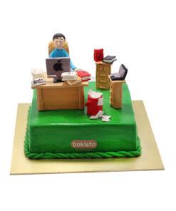 office theme cake