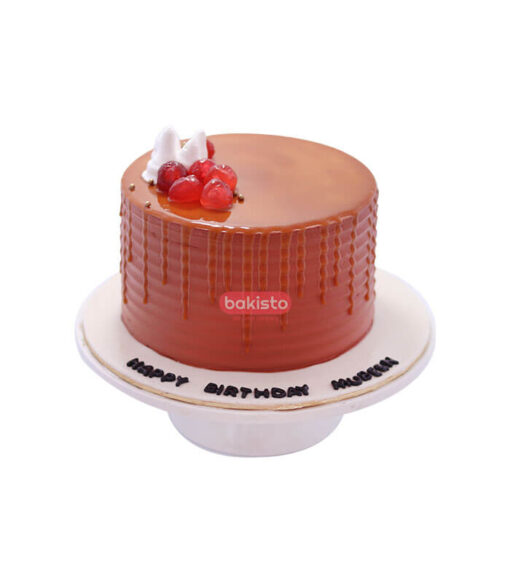 butter cream caramel cake, cake delivery in lahore