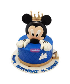 blue mickey mouse cake, cake delivery in lahore