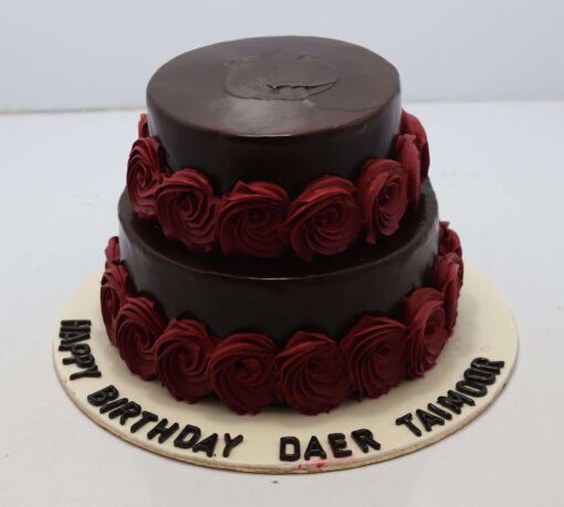 Two Tire Chocolate Cake