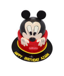 mickey mouse cake by bakisto, cake delivery in lahore