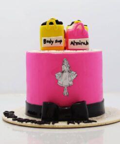 Shopping Theme Girls Cake