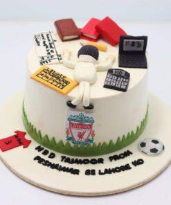 Charted Accountant Theme Cake