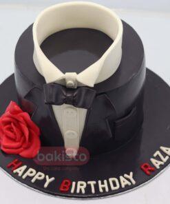 Gentleman Theme Cake