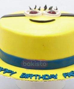 Minion Cake For Birthday