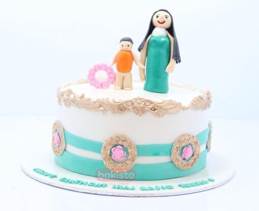 Siblings Birthday Cake