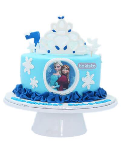 crown elsa cake in lahore