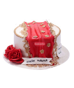 nikkah cake, customized cake in lahore