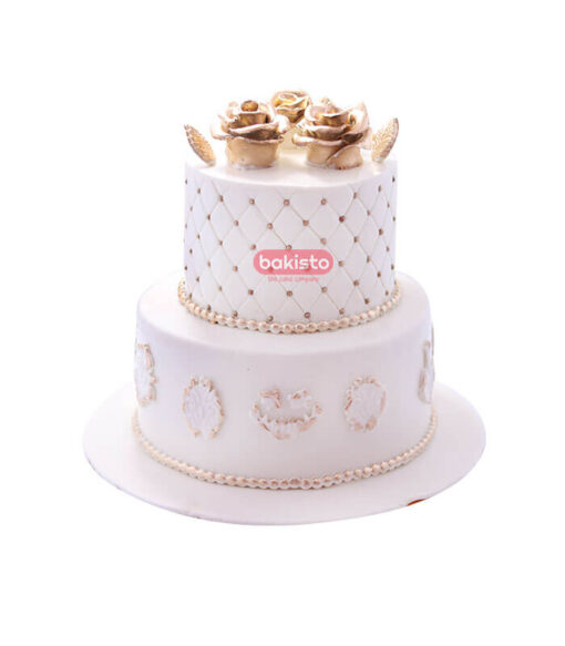 2 step wedding cake, online cake delivery in lahore