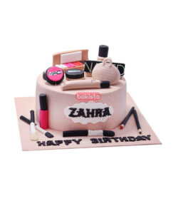 makeup cake by bakisto