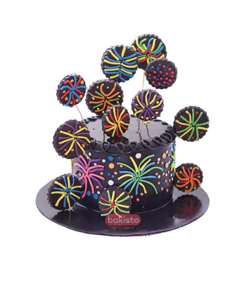 firecracker cake, online cake delivery in lahore