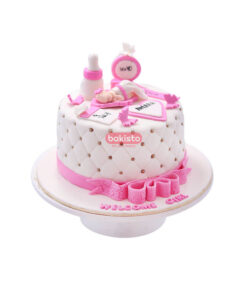 new born baby cake by bakisto