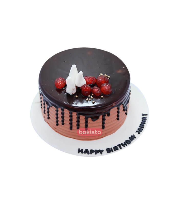 fresh cream chocolate cake