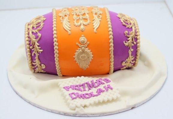 dholki cake, send cake in lahore