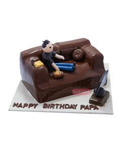 Sofa Theme Cake