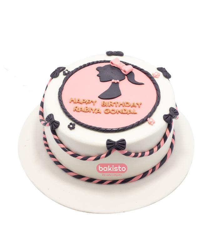 girls birthday cake, send cake to lahore