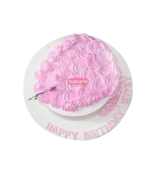 sitting girl silhouette cake