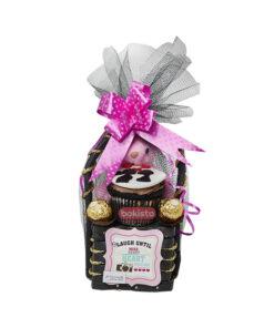 Ferrerro Cupcake Basket